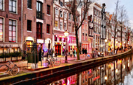 Red light district BY DAY