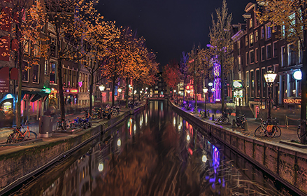Red light district BY NIGHT